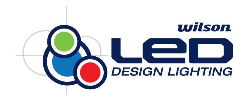 Wilson LED Logo